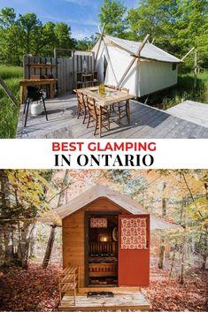 Ontario Camping, Ontario Travel, Road Trip Essentials, Road Trip Hacks, Glamping, Tent Camping, Camping Ideas, Camping Places, Places To Travel