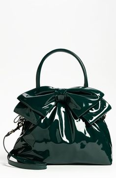 Loving this color.... Gorge  Valentino 'Bow' Dome Handbag available at Nordstrom