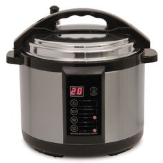 The Only 7qt. Indoor Pressure Smoker - Hammacher Schlemmer - This is the indoor pressure smoker that cooks barbecue brisket in only one hour - five times faster than traditional methods.