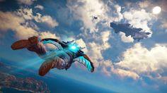 Sky Fortress es el  DLC de Just Cause 3 que convierte a Rico en un F16 humano, y este gameplay lo demuestra