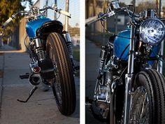 '73 Honda CB350 – Scott Di Lalla  |  Pipeburn.com