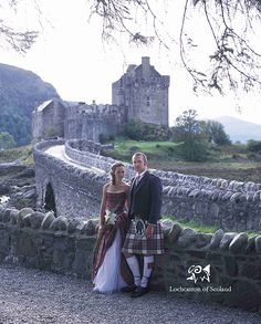 Castles are now utilised for the 'traditional' Scottish Wedding