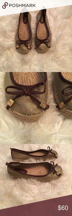 michael kors flats michael kors woven flats size 6 Michael Kors Shoes Flats & Loafers