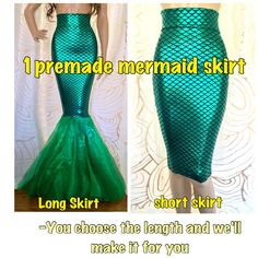 No Sew DIY Mermaid Costume Womens Adult by SPARKLEmeGORGEOUS More