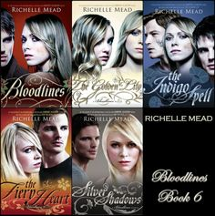 I am in love with this series. It encompasses everything a YA paranormal romance should be. The best part- it has a strong willed, intelligent and kind heroine. (Not to mention the swoonworthy hero Adrian...)