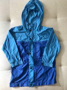 0b69ccbbdd94 EUC GapKids Boys Windbreaker Blue Turquoise Size 4-5  fashion  clothing   shoes