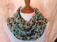 INFINITY Scarf  Long Soft wrap Lady Shawl   by Natalyfashion, $16.00
