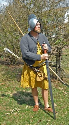 Mark Hanna is a historical reenactor with an interest in the Redshanks.  He is also a skilled textile craftsman who makes accurate reconst...