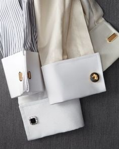 The French Cuff Dress Shirt is always In style for the sophisticated man.