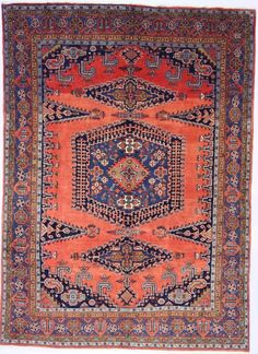 Sarug Handgeknüpft  Perser Teppich Rugs  324 x 239  cm tapis orient