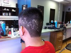 City Scape - Hair tattoos by Gord