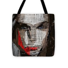 Tote Bag - Studio Portrait In Pencil 41