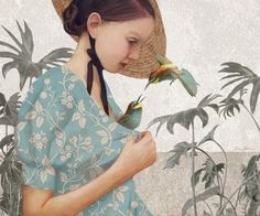 The Surreal work of Daria Petrilli The colour palette is tasteful and mature, and the atmosphere she creates with mysterious corners and glowing faces is divine. Laura Lee, Prado, Daria Petrilli, Perez Garcia, Arte Pop, Italian Artist, Pop Surrealism, Art Studies, Whimsical Art