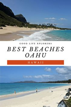 Beaches in Oahu, Hawaii If you are visiting the Hawaiian Islands, here are the Best Beaches in Oahu to make the most of your vacation!If you are visiting the Hawaiian Islands, here are the Best Beaches in Oahu to make the most of your vacation! Beach Vacation Tips, Hawaii Vacation, Oahu Hawaii, Hawaii Travel, Beach Trip, Travel Usa, Hawaii Beach, Vacation Travel, Travel Tips