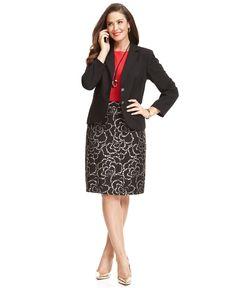 c51339f036a Work Your Wardrobe Plus Size Blazer