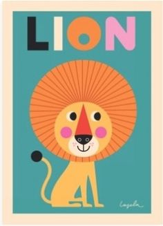 Affiche Lion#Repin By:Pinterest++ for iPad#