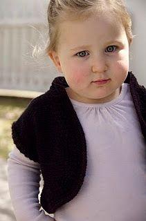 Knit Toddler Bolero