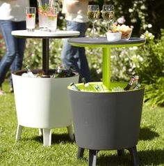 Cooler tables from amazon.com