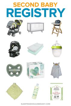 Wondering what to put on your second baby registry? Even though you're not a first-time mom, you might be missing a few products for your second baby. Take a look at these essential items and must-haves you might be missing on your checklist. From double strollers to car seats, these ideas will keep any mom organized the second time around.