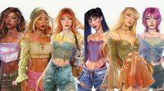 Trendy Halloween, Halloween Outfits, Winx Club, Meninas Comic Art, Winx Magic, Nostalgia Art, Les Winx, Digital Art Girl, Dance Art