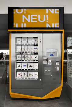 inspiration - accessory vending machine with interactive display
