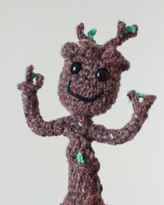 Baby Groot Amigurumi by Anudable on Etsy