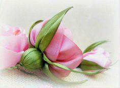 Цветы из лент и тесьмы от Нигяр Хикмет (Nigar Hikmet). Комментарии : LiveInternet - Российский Сервис Онлайн-Дневников