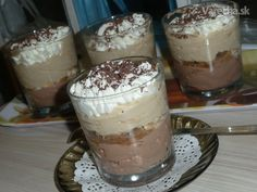 Tiramisu, Ham, Panna Cotta, Cheesecake, Food And Drink, Pudding, Sweets, Ethnic Recipes, Mascarpone