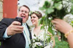 selfies! | green wedding shoes.