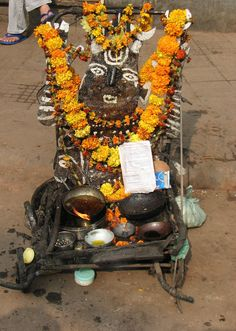 street shrine, India