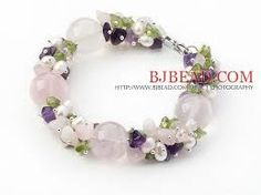 Резултат с изображение за bracelets roze quartz handmade
