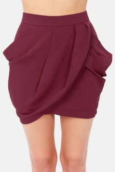 Lovely Layers Burgundy Tulip Skirt                                                                                                                                                                                 More