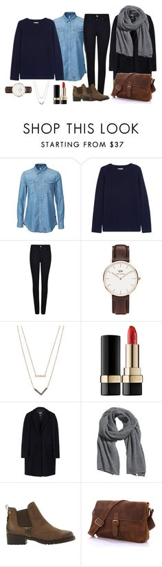 """Ootd#10"" by luludedid on Polyvore featuring mode, G-Star, Chinti and Parker, Giorgio Armani, Daniel Wellington, Michael Kors, Dolce&Gabbana, MSGM, H&M et Steve Madden"