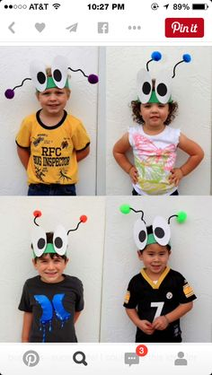 Bug headbands