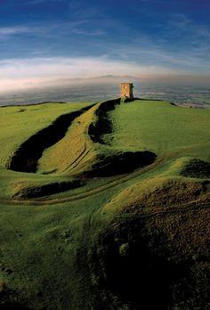 source Bredon Hill, Vale of Evesham, Worcestershire, England.