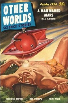 other worlds vintage COMIC BOOK COVER POSTER october 1950 SCI-FI 24X36 rare Brand New. 24x36 inches. Will ship in a tube. - Multiple item purchases are combined the next day and get a discount for dom