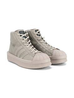 Rick Owens Adidas x Rick Owens hi-top sneakers