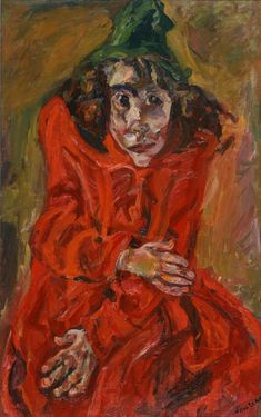 Chaim Soutine, Mad Woman, 1920, oil on canvas, 96 x 60 cm, The National Museum of Western Art, Tokyo. Source