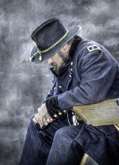 Burden of War Civil War Union General by Randy Steele Military Art, Military History, Military Uniforms, American War, American History, Ulysses S Grant, Civil War Art, America Civil War, Civil War Photos