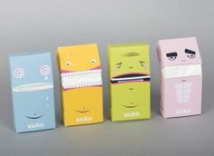 Packaging for tissue box