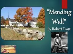 mending wall robert frost analysis essay
