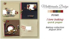 I love baking (Quick pages) by Mediterranka Design