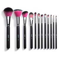 12 Piece Synthetic Professional Makeup Brushes with Brush Cup Holder  These are a bit pricey for me but I have heard great things about them. Since they are synthetic, they are cruelty free. Here is a review: http://www.youtube.com/watch?v=jdUI63d1cT4