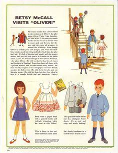"Betsy McCall visits ""Oliver!""   May 1963"