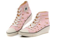 a96357ca56c2 Pink Women Converse Hi-ness Cutout Mermaid Wedge Heel Chuck Taylor All Star  Sandals   Converse Chuck Taylor All Star Sandals And Slippers