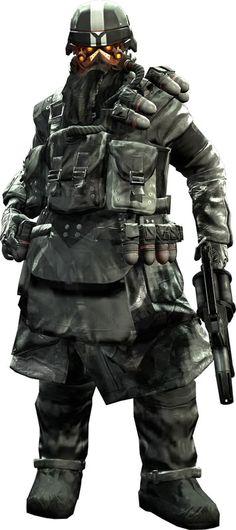 Helghast Grenadier
