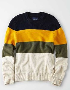 Discover an extensive selection of men's sweaters at American Eagle Outfitters. The best pieces for layering up this fall are here in a vareity of styles from V-neck sweaters to cool cardigans. Men's Sweaters, Cardigans, Casual Shirts For Men, Men Casual, Mens Outfitters, Hoodies, Sweatshirts, Layering, Flannel