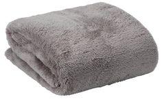 Huopa KROKUS teddy fleece 140x200 harmaa | JYSK