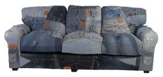 Denim Chaise Sofa Sectional | Denim Sectional Couch