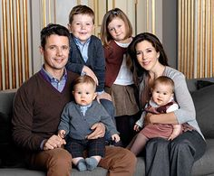 my favorite royal nuclear family. [Crown Prince Frederick, Crown Princess Mary, Prince Christian, Princess Isabella, Prince Vincent and Princess Josephine of Denmark.]